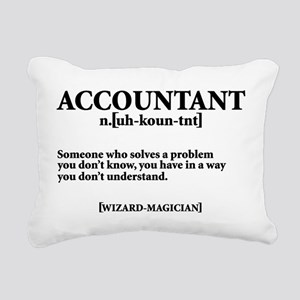 ACCOUNTANT NOUN Rectangular Canvas Pillow